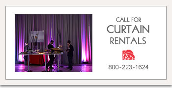 Call for Curtain Rentals