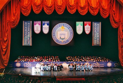 College Graduation Stage