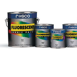 Rosco Fluorescent Paint from Rose Brand