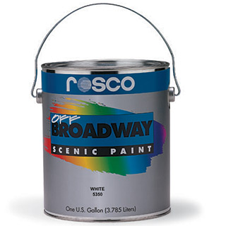 Paint Brands on Rosco Off Broadway    Paint From Rose Brand